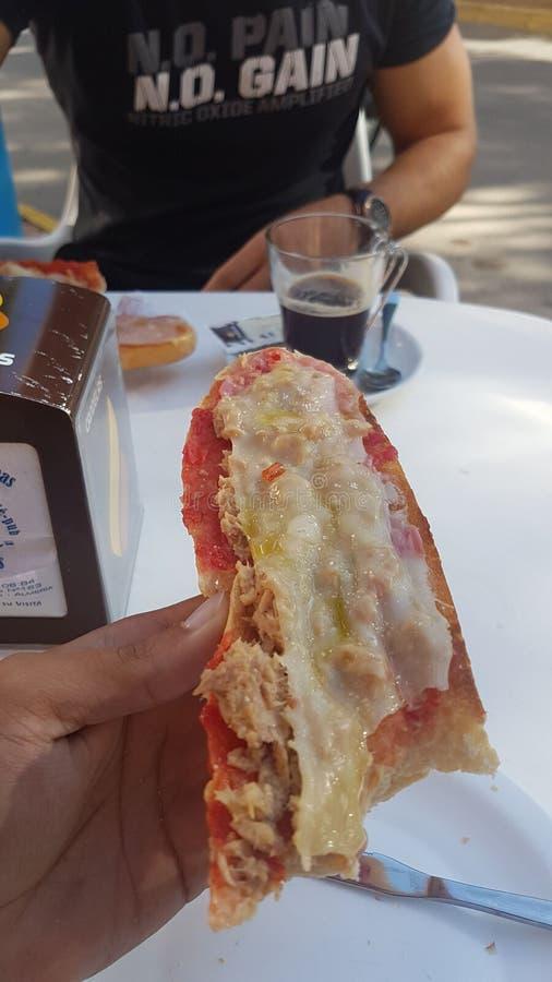 Hiszpański śniadanie zdjęcia stock
