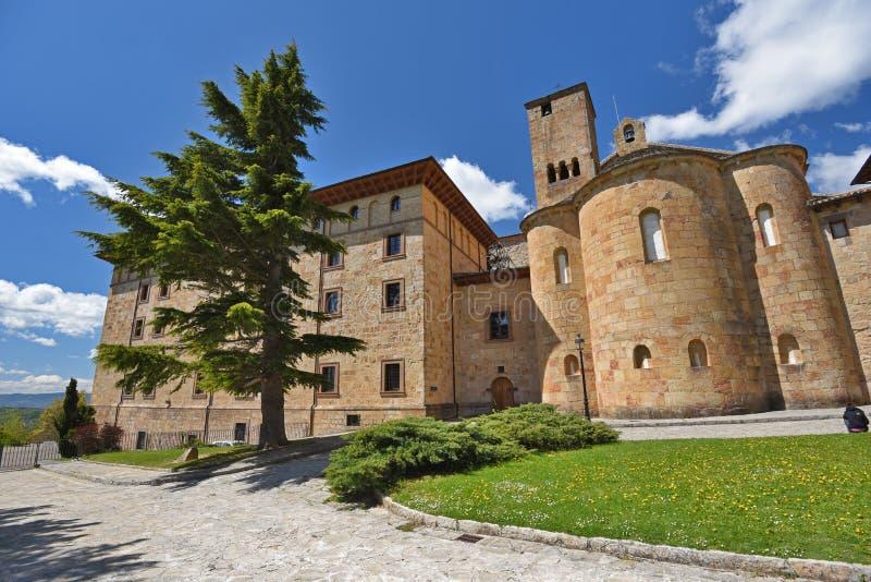 Hiszpański antyczny monaster zdjęcie stock