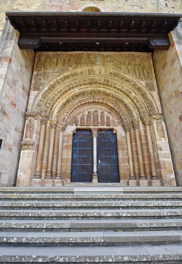 Hiszpański antyczny monaster fotografia royalty free