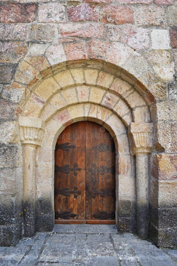 Hiszpański antyczny monaster zdjęcia royalty free