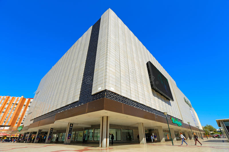 Hiszpański centrum handlowe obrazy royalty free