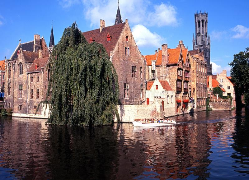 Hiszpański dom, Bruges obrazy stock