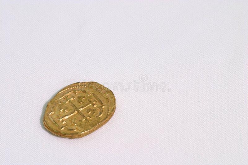 hiszpański dublon złoto zdjęcie royalty free