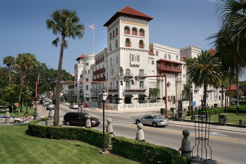 Hiszpański Dziejowy Buduje St Augustine Floryda zdjęcie royalty free