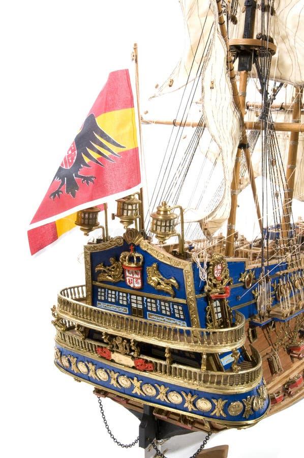 hiszpański galeon szczególne zdjęcia stock