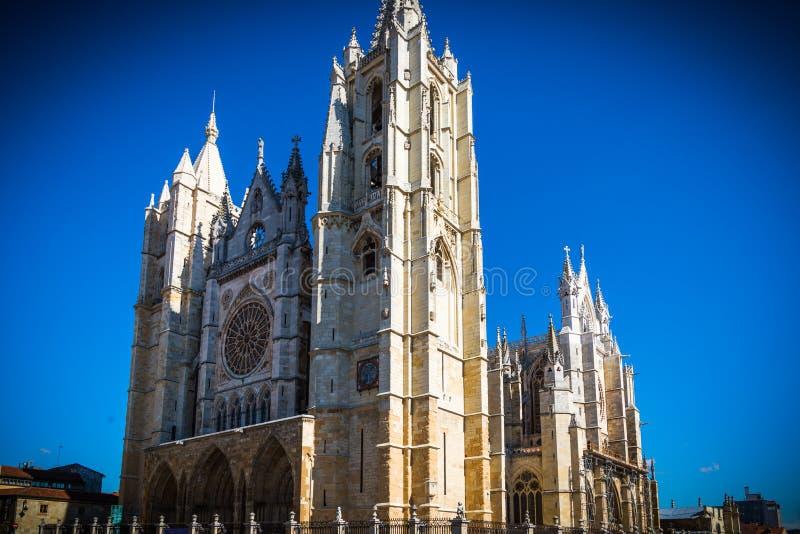 Hiszpański gotyk obrazy royalty free