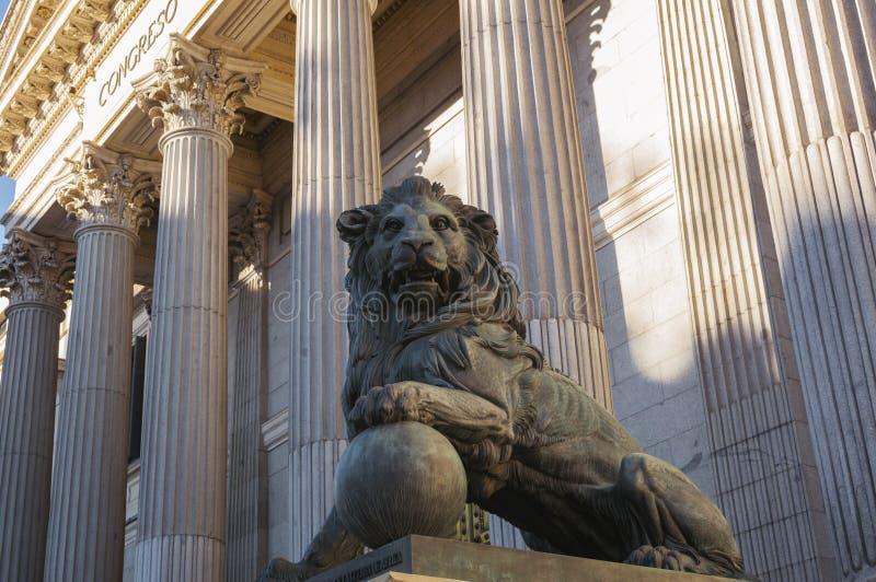 Hiszpański Kongresowy wejście fotografia royalty free
