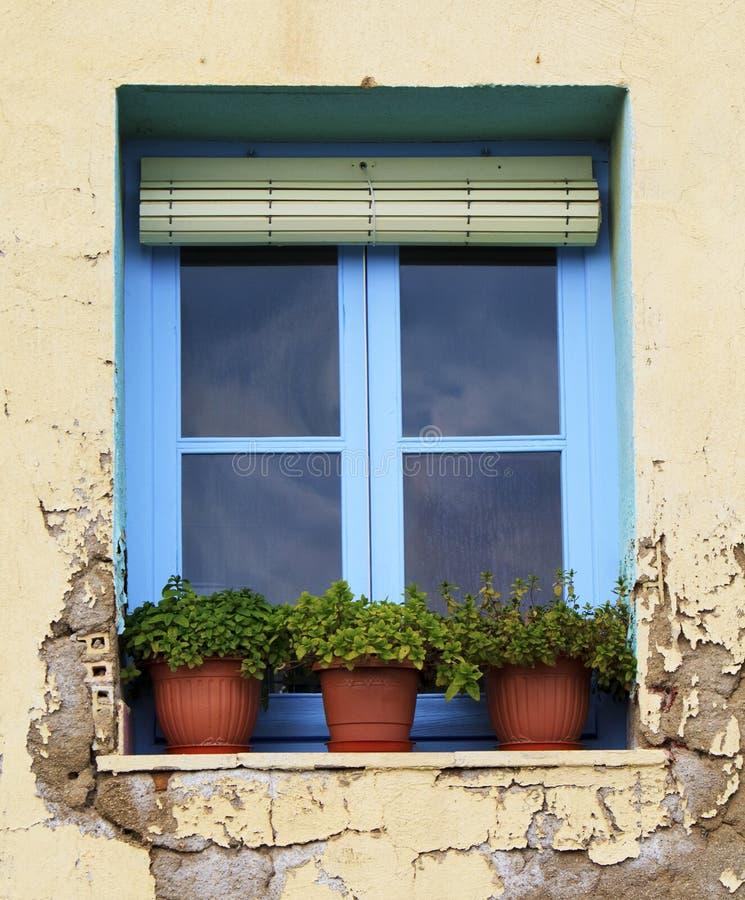 hiszpański okno zdjęcia stock