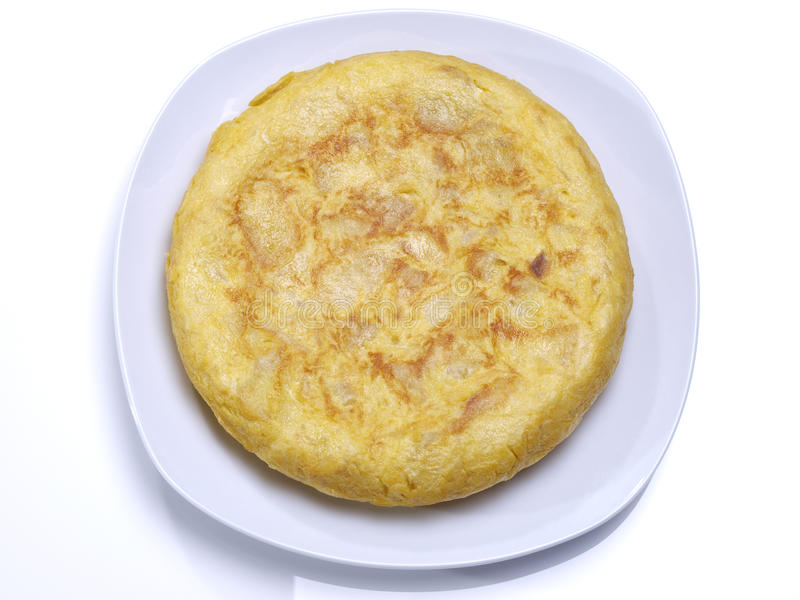 Hiszpański omlet. fotografia royalty free