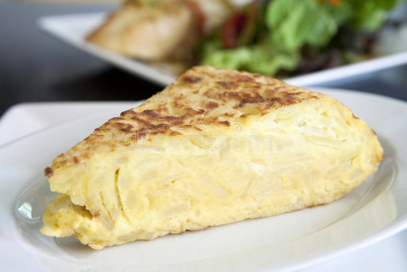 Hiszpański omlet obraz royalty free
