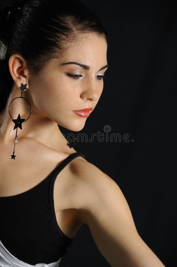 hiszpański tancerzem. obrazy stock