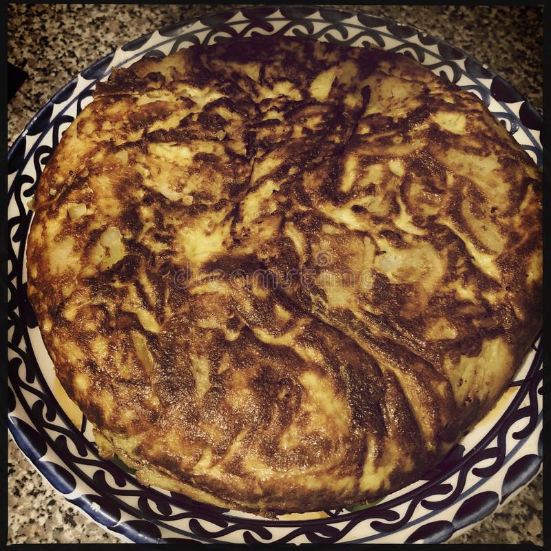 hiszpański tortilla zdjęcie royalty free