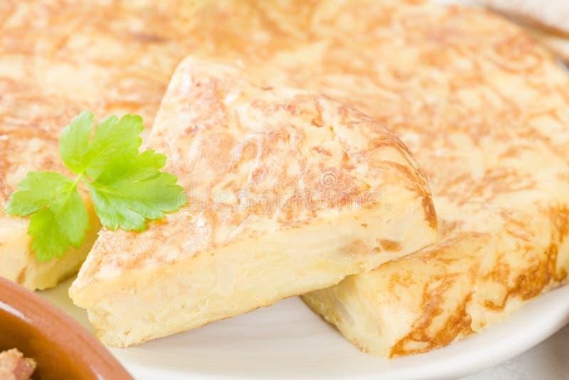 Hiszpański Tortilla zdjęcie stock