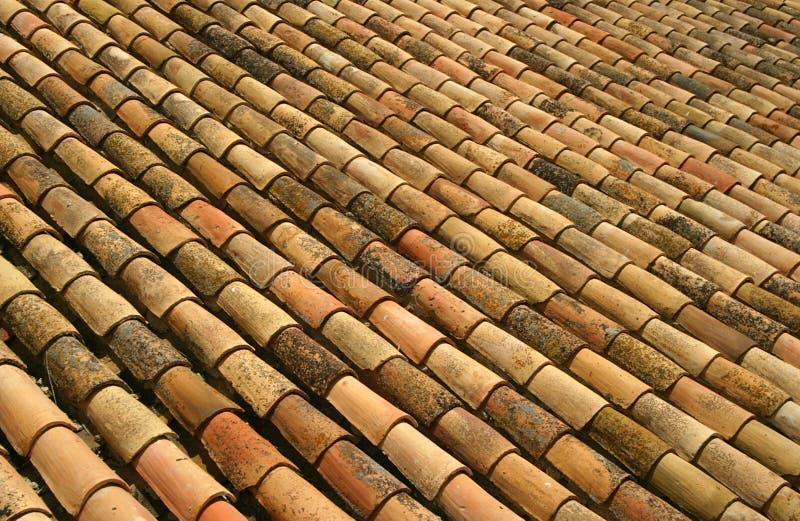 hiszpańskie dachowe płytki zdjęcia royalty free