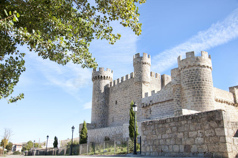 Hiszpańszczyzna kasztel zdjęcia royalty free