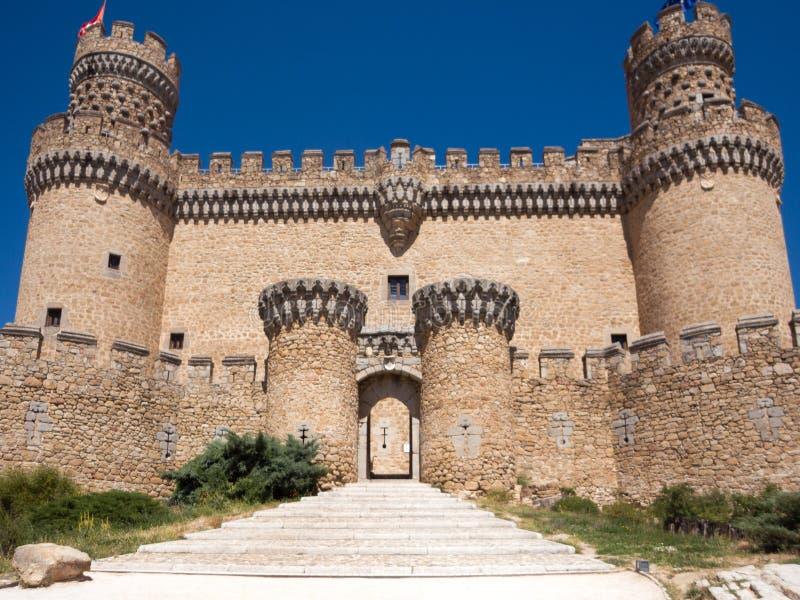Hiszpańszczyzna kasztel zdjęcie royalty free