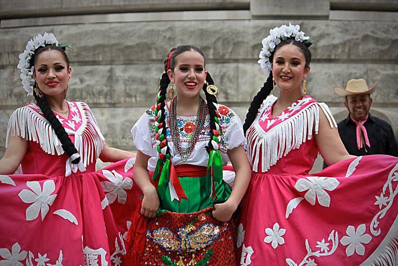 Hiszpańszczyzna taniec - 1 zdjęcie stock