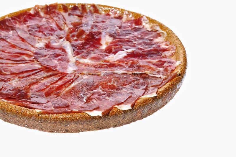 Download Hiszpański Iberian Baleron. Zdjęcie Stock - Obraz złożonej z przekąska, odosobniony: 28961618