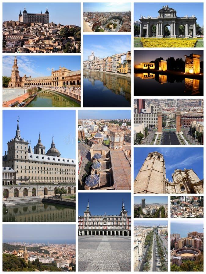 Hiszpania fotografii kolekcja obraz royalty free
