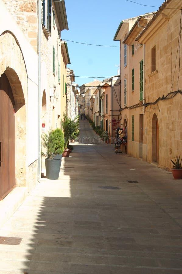 Hiszpania miasta ulica zdjęcie stock