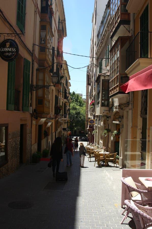 Hiszpania miasta ulica zdjęcie royalty free