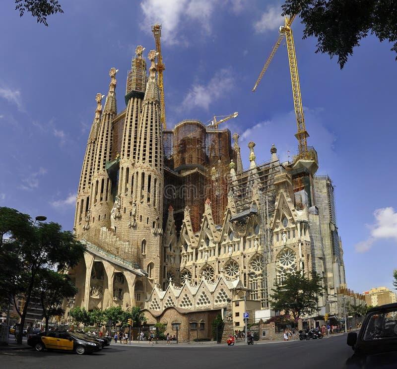 Hiszpania Sagrada De Familia obraz stock