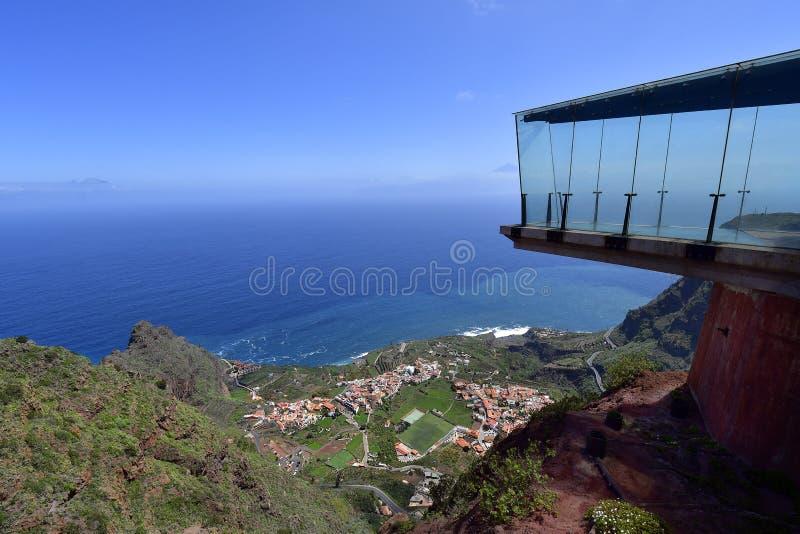 Hiszpania, wyspy kanaryjska, los angeles Gomera fotografia stock