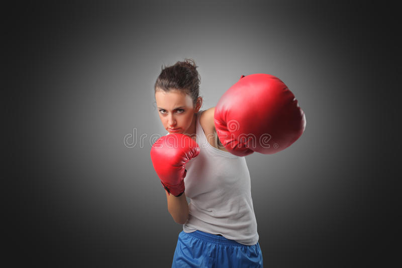 Hit! stock photo