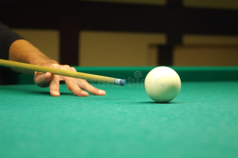 Hit the ball stock images