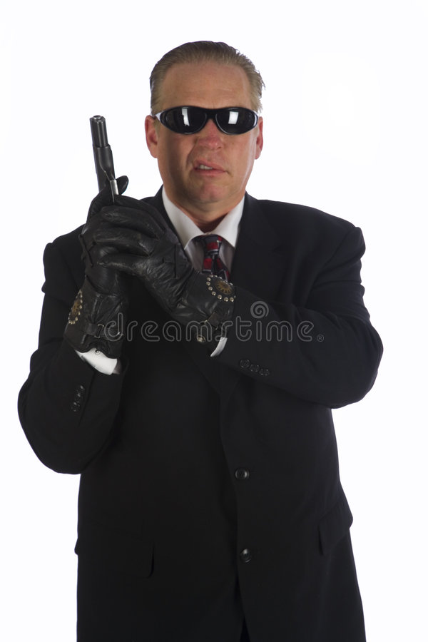 Download The Hit Man stock image. Image of enforcement, killer - 4494815