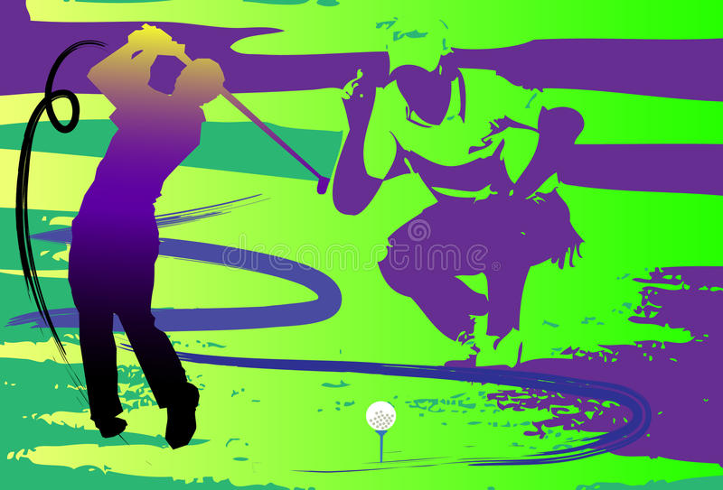 Download Hit show golf swing stock illustration. Illustration of creative - 33813642