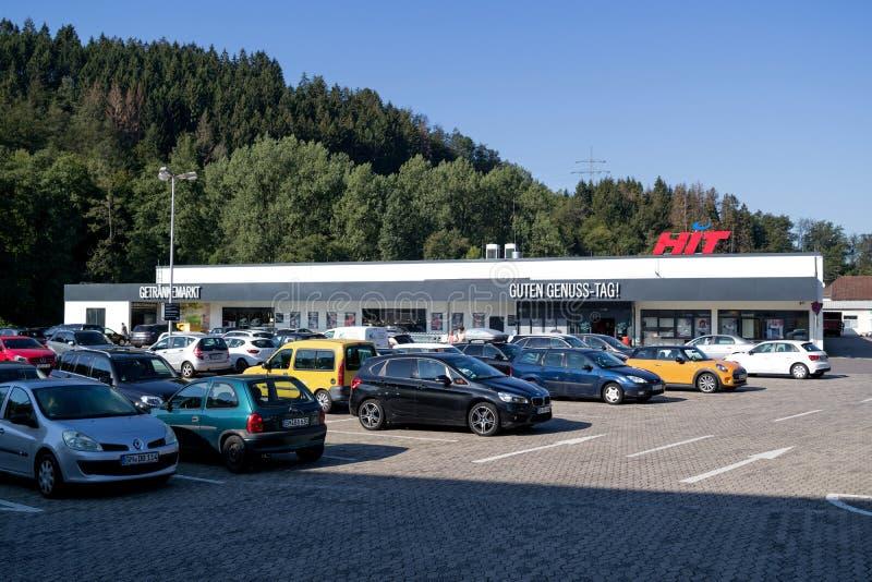 HIT-stormarknaden i Gummersbach, Tyskland royaltyfria foton