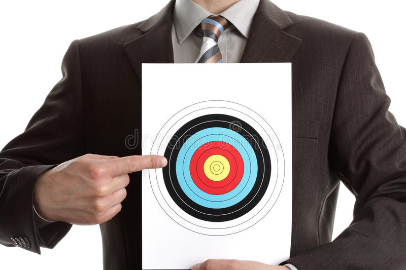 Download Hit the Target stock photo. Image of centre, jacket, background - 13784306