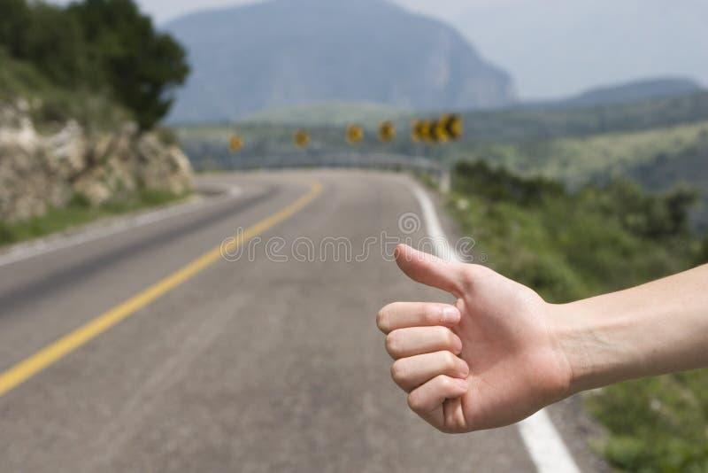 Hitchhike fotografia stock