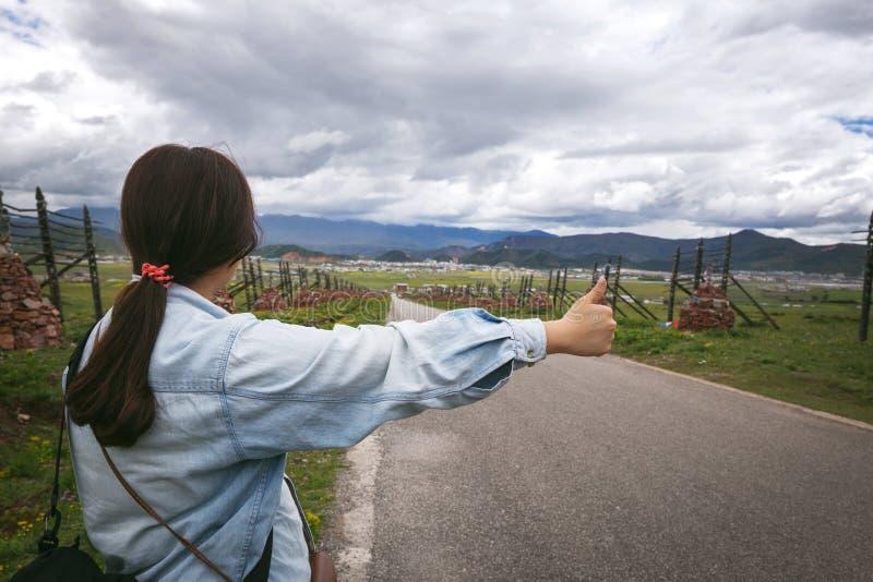 hitchhiker στοκ φωτογραφίες με δικαίωμα ελεύθερης χρήσης