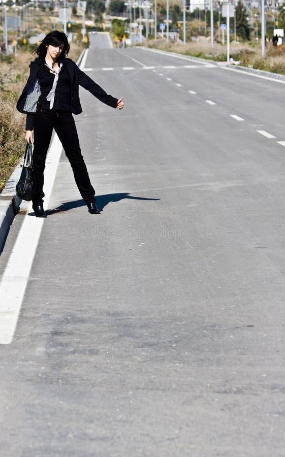 hitchhiker στοκ εικόνες