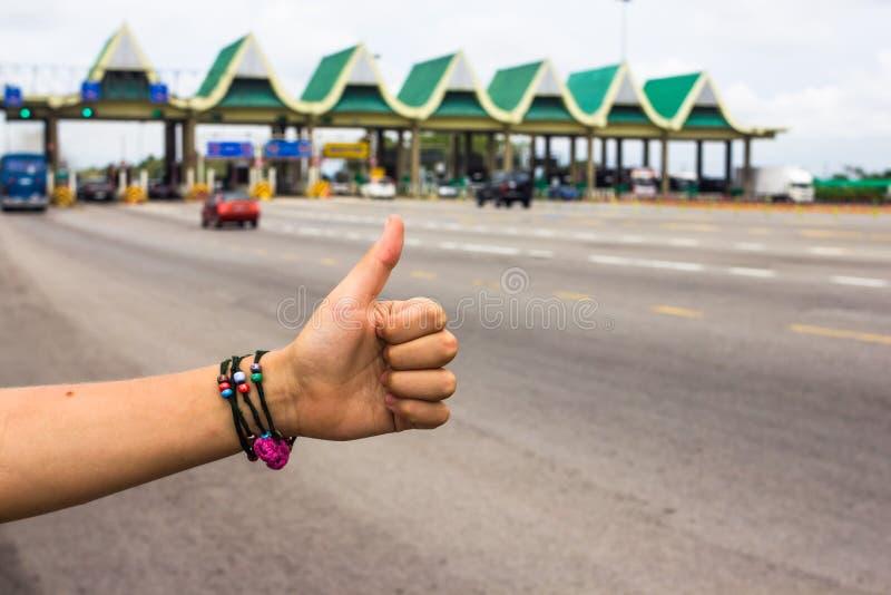 hitchhiker стоковые изображения rf