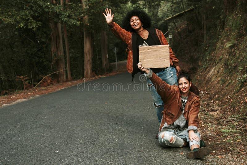hitchhiking fotos de archivo libres de regalías