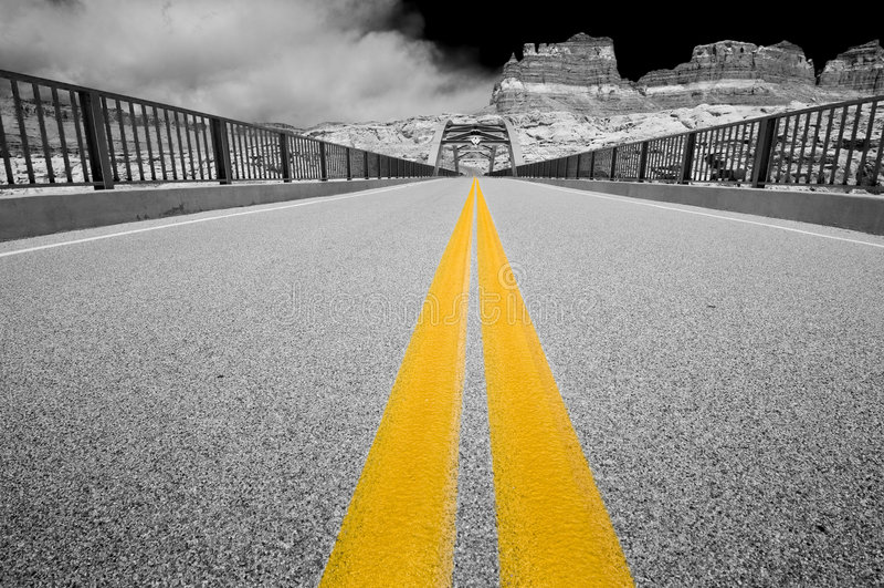 Download Hite bridge, Glen Canyon stock photo. Image of landscape - 7575364