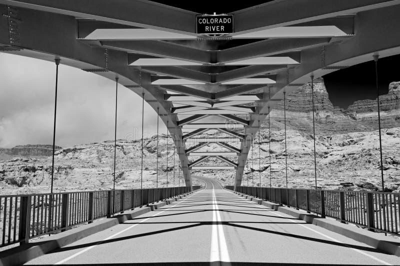 Download Hite bridge, Glen Canyon stock image. Image of drive, american - 7575367