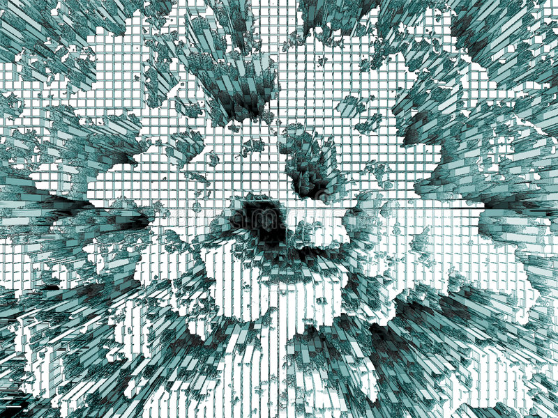 Hitech Abstrakcyjne Obrazy Stock