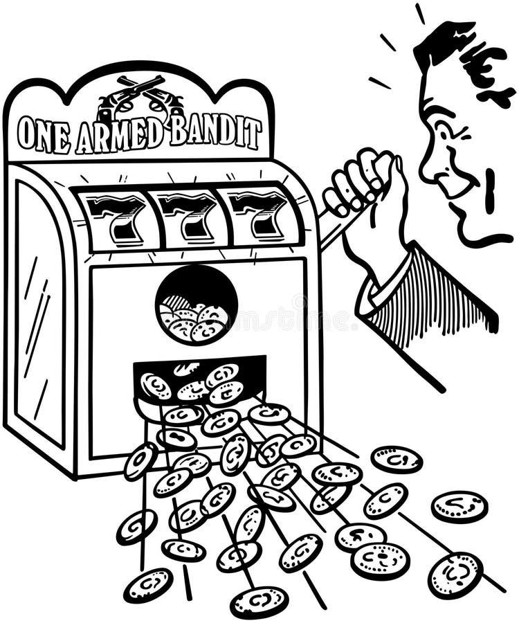 hitting jackpot ελεύθερη απεικόνιση δικαιώματος