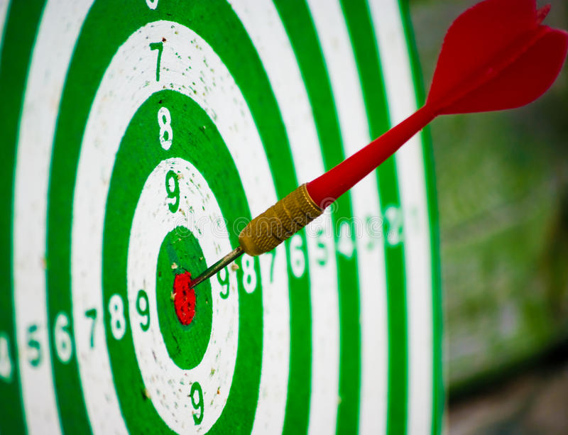 Download Hitting target stock photo. Image of accuracy, aspiration - 10566480