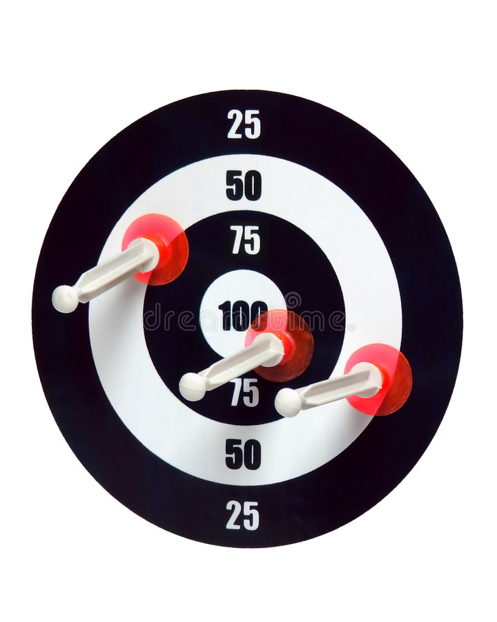 Hitting the Target stock photography