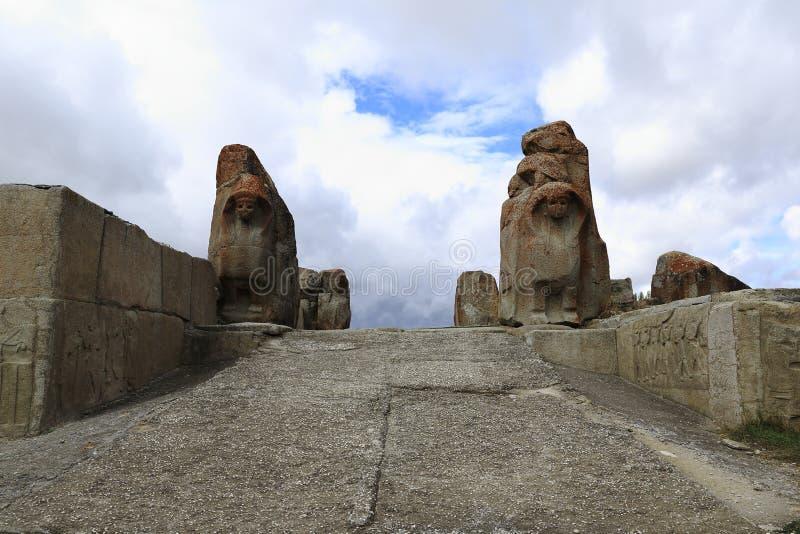 Hittites, Hattusa immagini stock