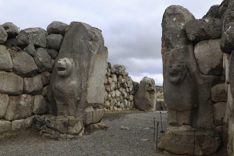 Hittites, Hattusa obrazy royalty free