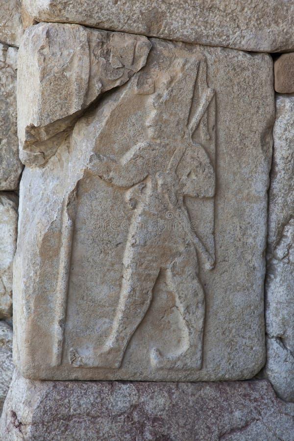 Hittites King Relief royalty free stock image