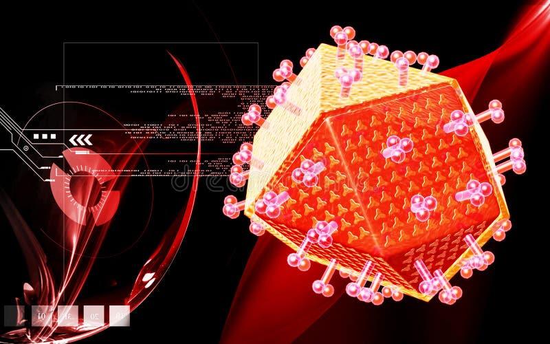 Download HIV stock illustration. Illustration of test, imagination - 11776576
