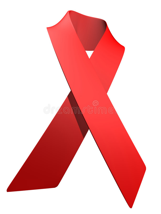 HIV illustration stock