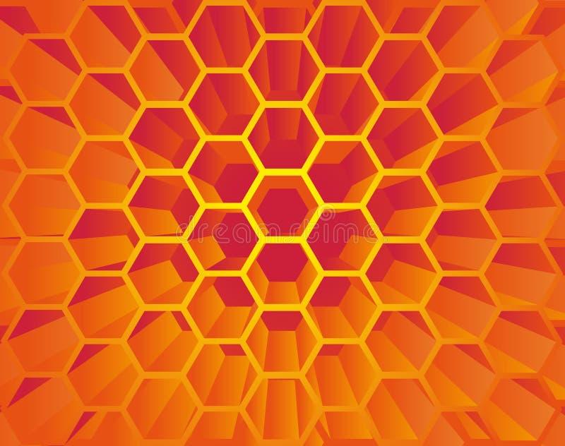 Hive stock illustration